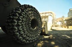 Chain link wheel Royalty Free Stock Photo