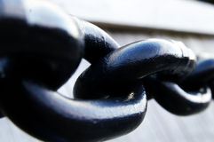Chain links Stock Image