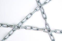 Chain links. Metal chain links Royalty Free Stock Photo