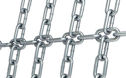Chain links background Stock Photography