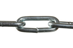 The chain links Royalty Free Stock Photos