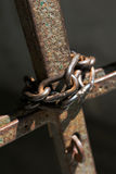 Chain lock Royalty Free Stock Image
