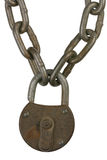 Chain Lock Royalty Free Stock Images