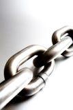 Chain macro Stock Photo