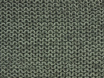 Chain mail. Wire rings detail abstract background Royalty Free Stock Photography