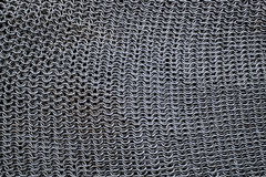 Chain mail armour texture Royalty Free Stock Images