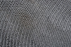 Chain mail armour texture Stock Image