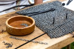 Chain mail Stock Image