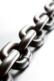 chain makro Arkivbild