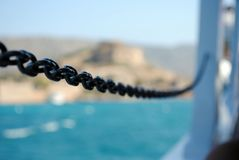 Chain me to the sea Royalty Free Stock Photos