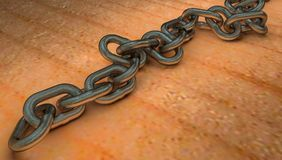 Chain, Metal Chain, Link Royalty Free Stock Images