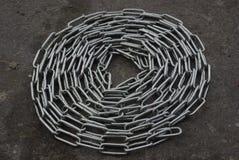 Chain metal Stock Image