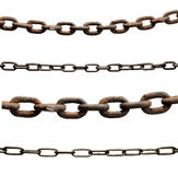 Chain metal link industry tool Royalty Free Stock Images