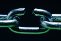 chain metall Arkivbilder