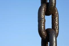 chain metall Arkivfoton