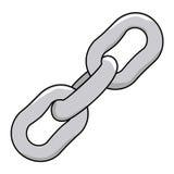 chain metalliskt Arkivfoton