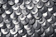 chain metalliskt för pansar Royaltyfria Bilder