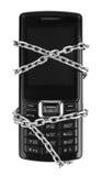 chain mobil telefon Arkivfoto