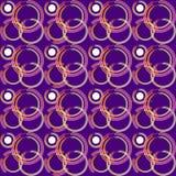 Chain modell eller rörelse- modell för bubbla stock illustrationer
