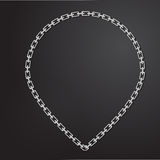 Chain Necklace. This is Necklace chain for presentation Royalty Free Stock Photography