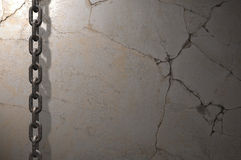 Free Chain On The Wall Royalty Free Stock Photo - 18605295