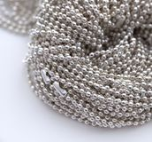 chain pärlor mycket Royaltyfri Bild