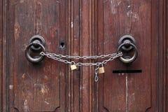 Chain and padlocks Royalty Free Stock Photos