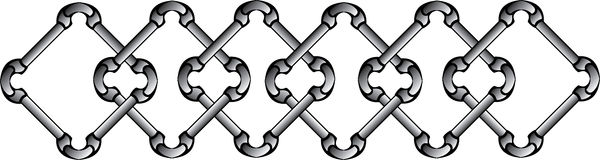 Chain pattern Royalty Free Stock Photography