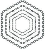 Chain pattern Stock Photos