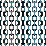 Chain pattern Royalty Free Stock Image