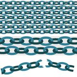Chain pattern Royalty Free Stock Photo