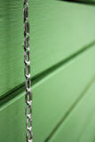 Chain and plank Stock Image