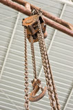 Chain pulley Royalty Free Stock Image