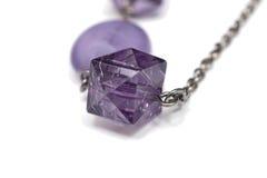 chain purple Arkivbilder