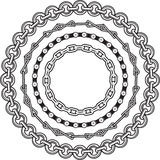 Chain Rings Royalty Free Stock Images