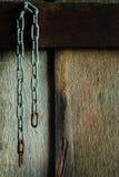 chain rost arkivfoto