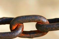 chain rostigt Royaltyfri Bild