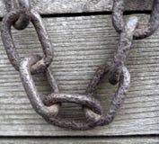 chain rostigt royaltyfria foton