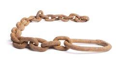 chain rostigt arkivfoton