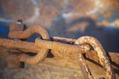 chain rostigt Royaltyfria Bilder
