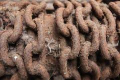 chain rostigt Arkivbild