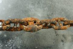 chain sammanlänkning Fotografering för Bildbyråer