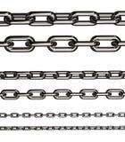 chain sammanlänkningar Arkivbild