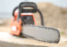 Free Chain Saw Stock Photography - 15521492