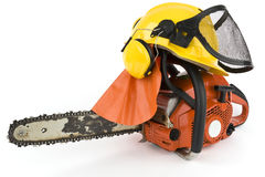 Chain saw 2 Royalty Free Stock Photos