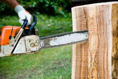 Chain Saw Stock Image