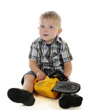 Chain Saw Baby Stock Images