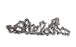 chain for saw isolated Stock Image