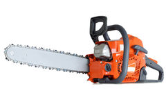 Chain saw Stock Photography