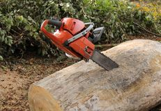 Chain Saw. Stock Photos